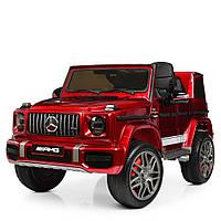 Детский электромобиль Джип Mercedes (Мерседес) M 4180EBLRS-3 красный с автопокраской