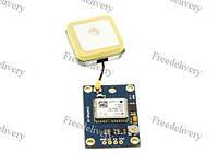 Ublox NEO-6M GPS-модуль с антенной, Arduino APM2, фото 1