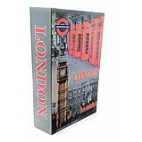 """Книги сейф """"London"""" 24,5 см с замком, фото 3"""