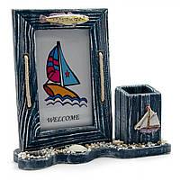 Декорация рамочка в морском стиле