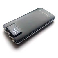 Power Bank Внешний аккумулятор 12600мАч 2xUSB ЖК фонарик Reddax RDX-225