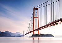 Фотообои швейцарские Міст Сіхоумень у Китаї 366*254 (8ч) C3 (код 972 )