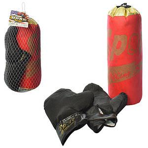 Боксерский набор груша 38 и перчатки M 5975-1