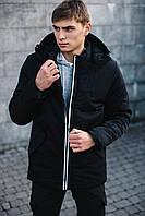 Парка мужская весенняя / осенняя / куртка демисезонная Spart x black ТОП качество