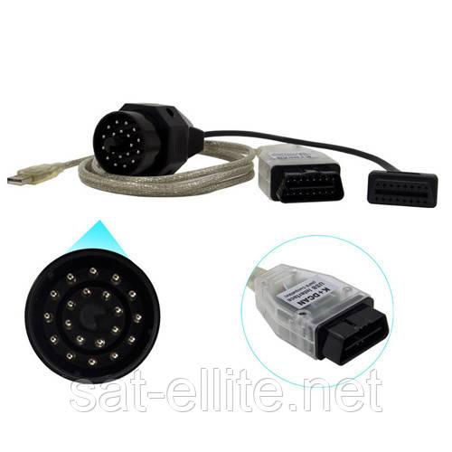 K+DCAN INPA USB сканер диагностики авто для BMW + 20pin переходник