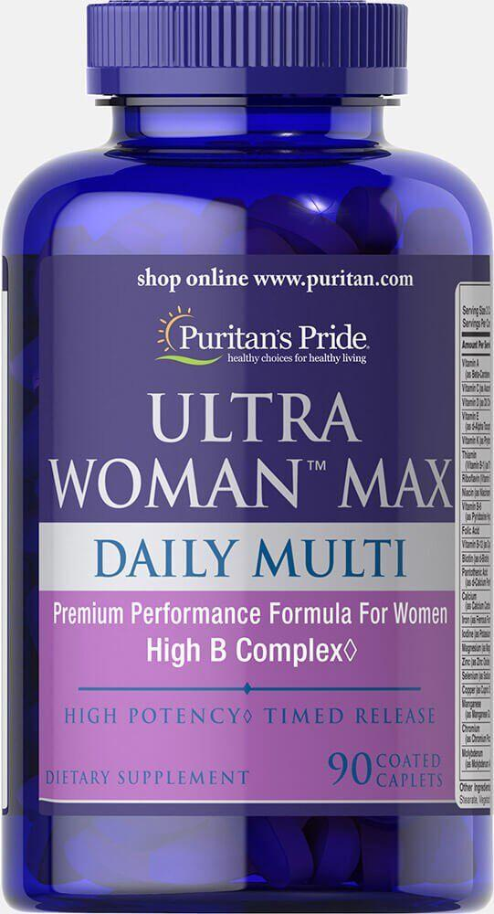 Puritan's Pride Ultra Woman Max (90 таб.)