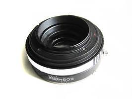 Адаптер переходник Canon EOS - Sony NEX, апертура Ulata