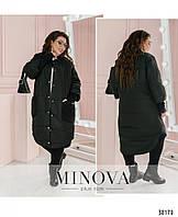 Куртка №199-черный Размеры 52-54,56-58,60-62,
