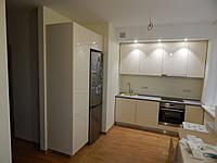 Кухня на заказ Premium BLUM-003 Niemann панели слоновая кость Столешница Arpa