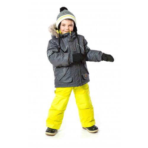 Комплект для мальчика PELUCHE&TARTINE Smoke / Glow Lime F17M61EG