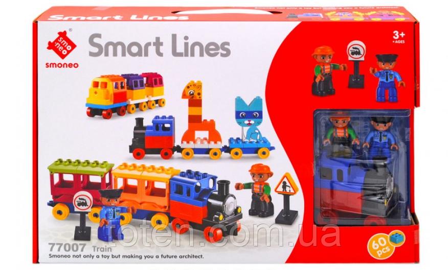 Конструктор Smart Lines Веселый поезд 77007 20 1615