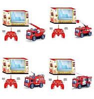 Радиоуправляемая пожарная машина 4 вида., фото 1