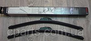 Комплект щеток стеклоочистителя бескаркасных 500 мм DaciaSandero (Bosch 3397009081)(высокое качество)