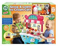 Большая тележка для мороженого LeapFrog Scoop & Learn Ice Cream Cart