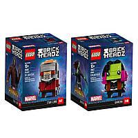 LEGO Brickheadz  6237625 41606 41607 Звёздный Лорд Гамора Star-Lord Gamora