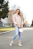 Модная демисезонная короткая куртка Нателла, разные цвета