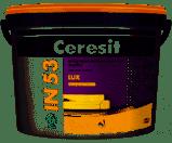 Интерьерная матовая латексная краска Церезит IN 53 LUX База А 10 л