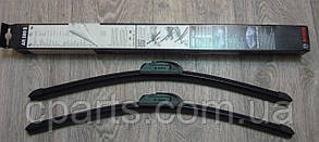 Комплект щеток стеклоочистителя бескаркасных 500 мм RenaultLogan MCV (Bosch 3397009081)(высокое качество)