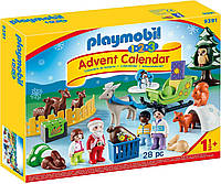 Адвент календарь Плеймобил PLAYMOBIL Advent Calendar Christmas in The Forest