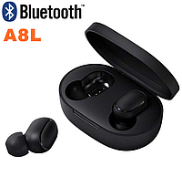 Беспроводные Bluetooth наушники A8L TWS. Бездротові вакуумні навушники. Беспроводні блютуз блютус наушники, фото 1