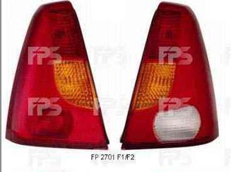 Левый задний фонарь желто-красный Рено Логан 04-08 / RENAULT LOGAN (2004-2013)