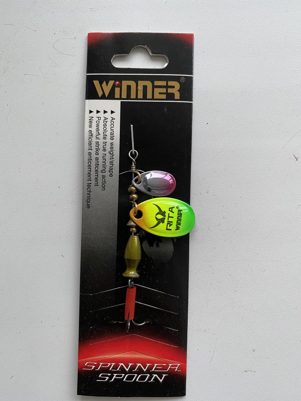 Вертушка 2я Winner WP-004 Rita 8g col.005