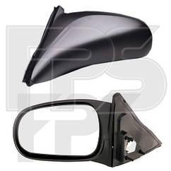 Левое зеркало Хонда Цивик ЯПОНИЯ -99 механический привод; без обогрева; выпуклое / HONDA CIVIC (1995-2000)