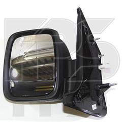 Левое зеркало Рено Трафик 14- электрический привод; с обогревом; асферическое / RENAULT TRAFIC (2014-)