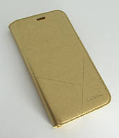Чехол-книжка для смартфона Samsung Galaxy J2 2018 J250 золотая MKA