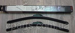 Комплект щеток стеклоочистителя бескаркасных 500 мм RenaultSandero (Bosch 3397009081)(высокое качество)