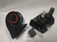 """Сигнал """"улитка"""" TIGER TG-H100 12V немецкие комплектующие, медные контакты и диафрагма"""