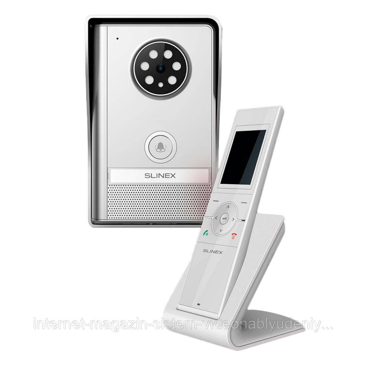 Беспроводный комплект видеодомофона Slinex RD-30 R Графит / Белый