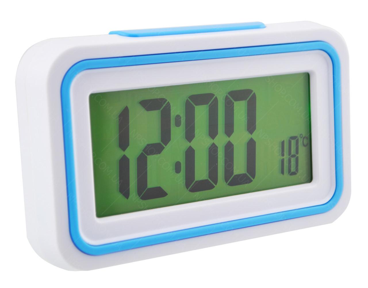 Будильник говорящие часы KENKO 9905 TR