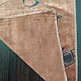 Кухонное полотенце из микрофибры 50*25 шоколадное, фото 2