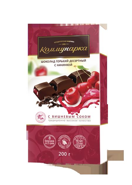 Белорусский шоколад  с вишневым соком 200 г