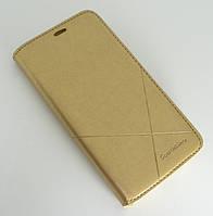 Чехол-книжка для смартфона Samsung Galaxy J2 Prime G532/G531/G530 золотая MKA