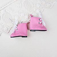 Обувь для кукол, сапожки розовые - 5*2.8 см