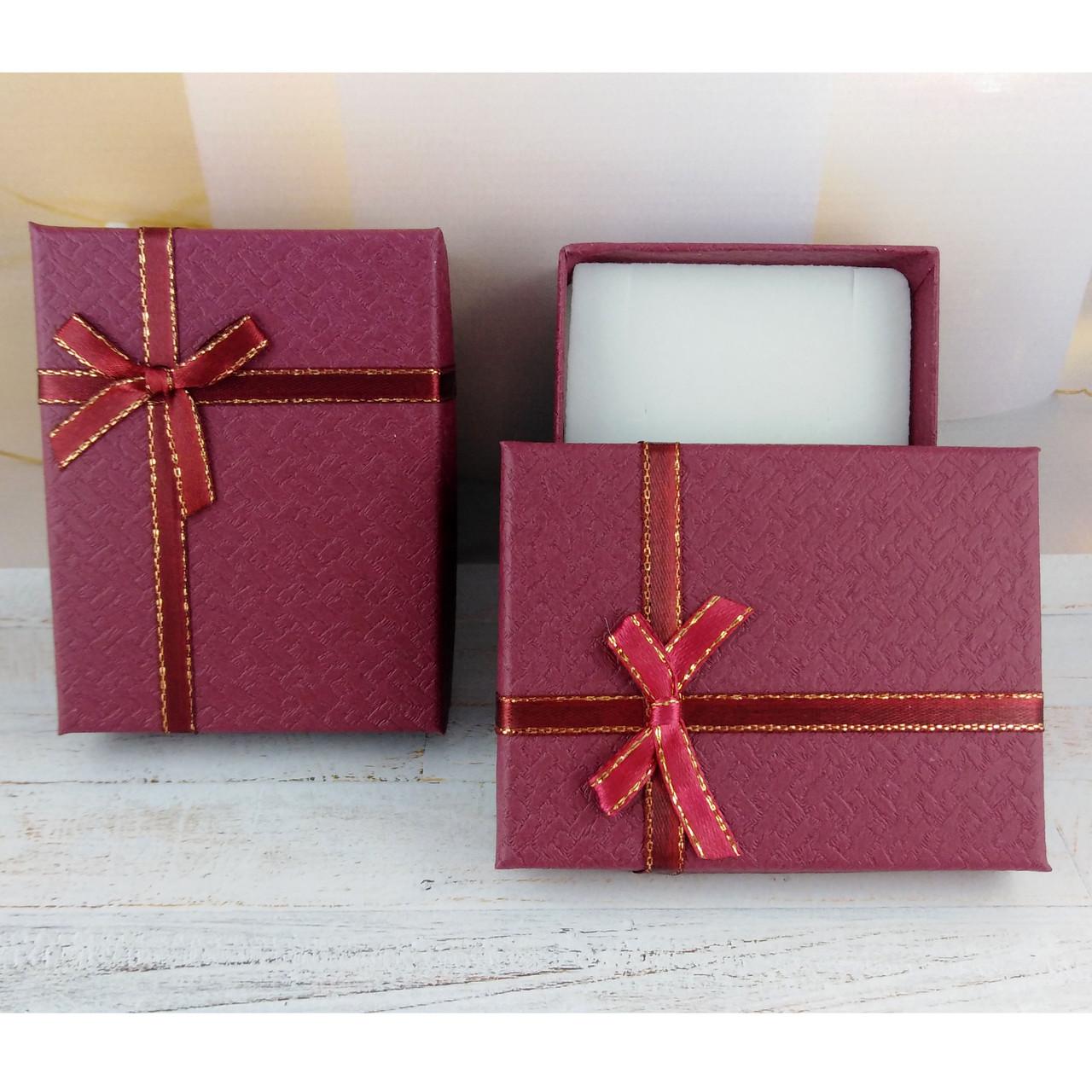 Подарочная коробочка SIMPLE Вишневая