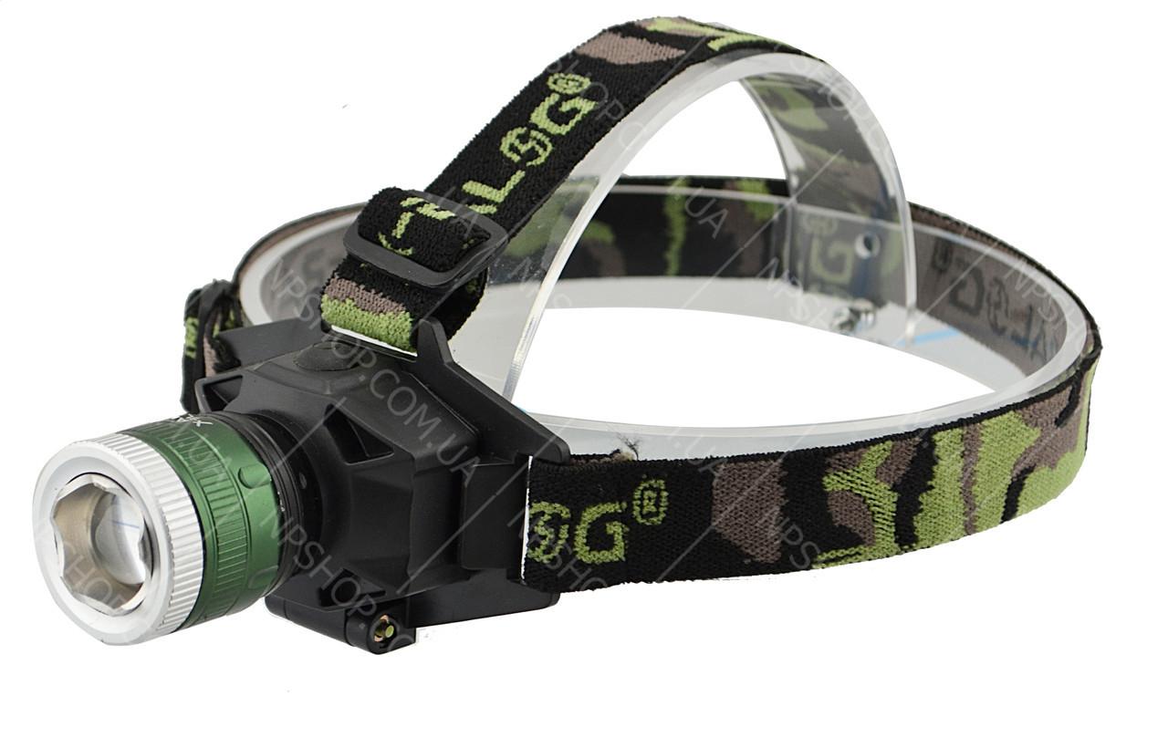 Ліхтар налобний Bailong BL 6902 ліхтарик + UF діод
