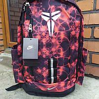 Рюкзак спортивный Nike Kobe красный, баскетбольный рюкзак