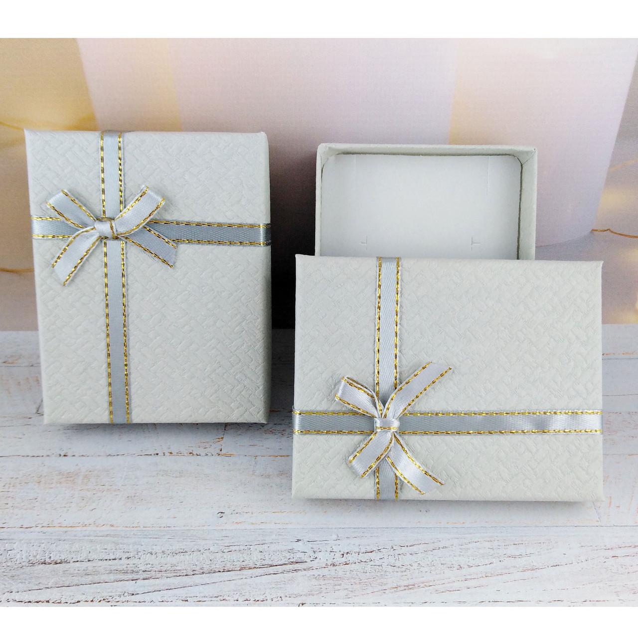 Подарочная коробочка SIMPLE Серая