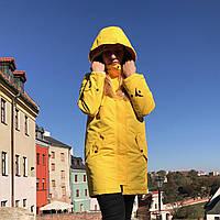 Парка женская весенняя / осенняя / куртка демисезонная SP X yellow ЛЮКС качества