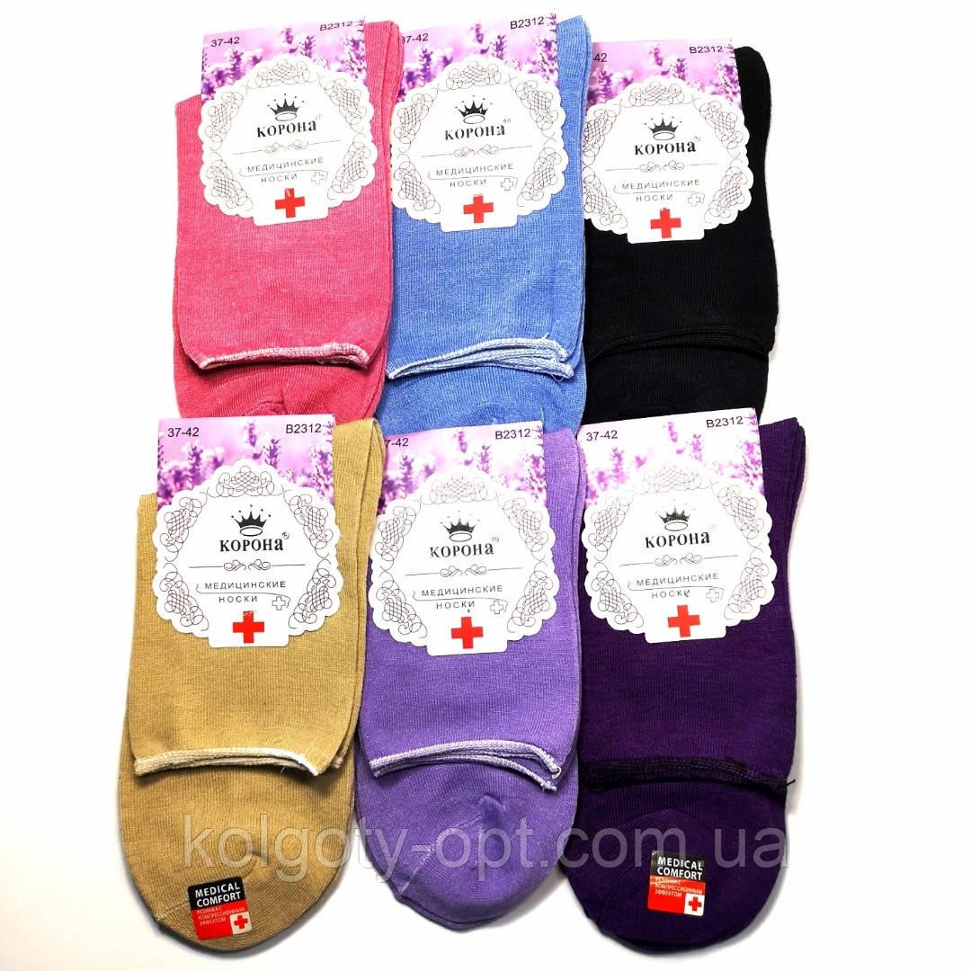 Жіночі медичні шкарпетки без гумки Корона носки