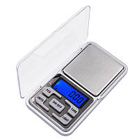 Карманные ювелирные электронные высокоточные весы  Domotec 0,01-200 гр + батарейки (0385), фото 1