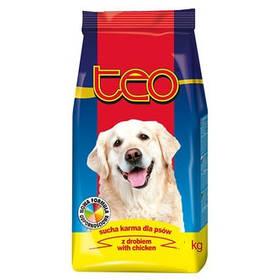 Сухой корм TEO для взрослых собак всех пород с курицей, 9кг