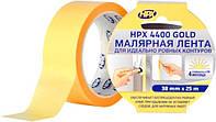 Малярная лента HPX 4400 100С 38 мм х 25 м Оранжевая FP3825