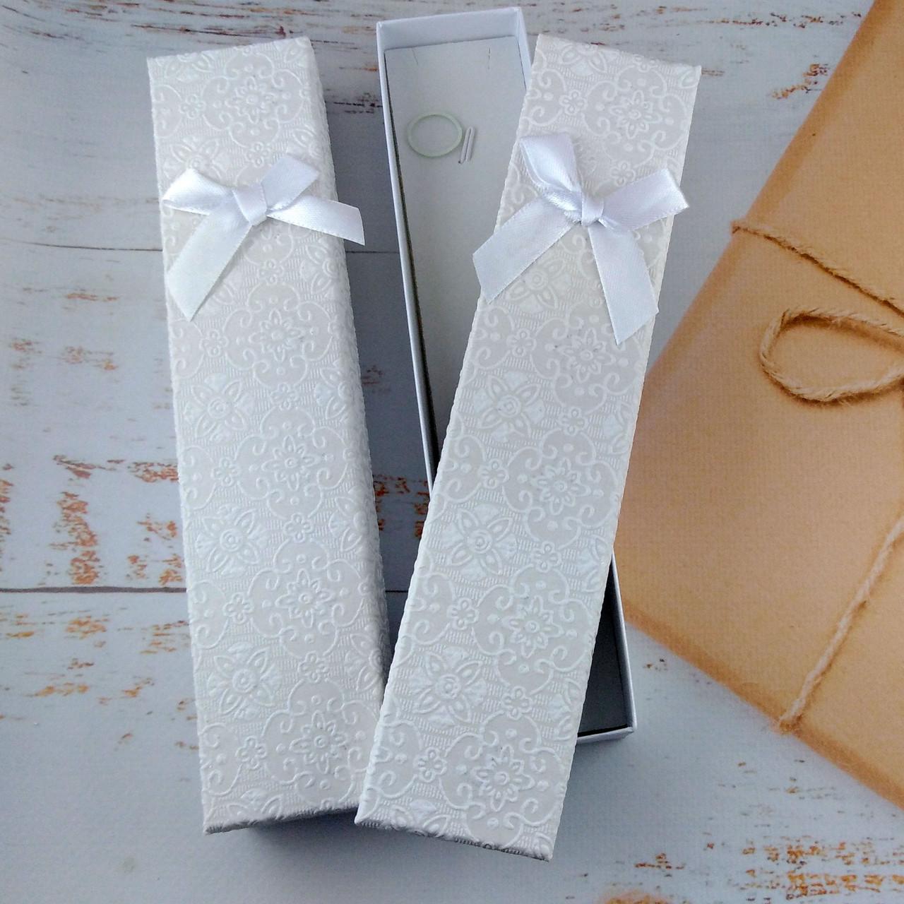 Подарочная коробочка для браслетов BEAUTY Белая