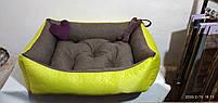 Диван лежанка Premium для больших собак всех  100 х 80 см.Лежанка,Лежаки,лежак,лежак для кошки,лежак для собак, фото 3