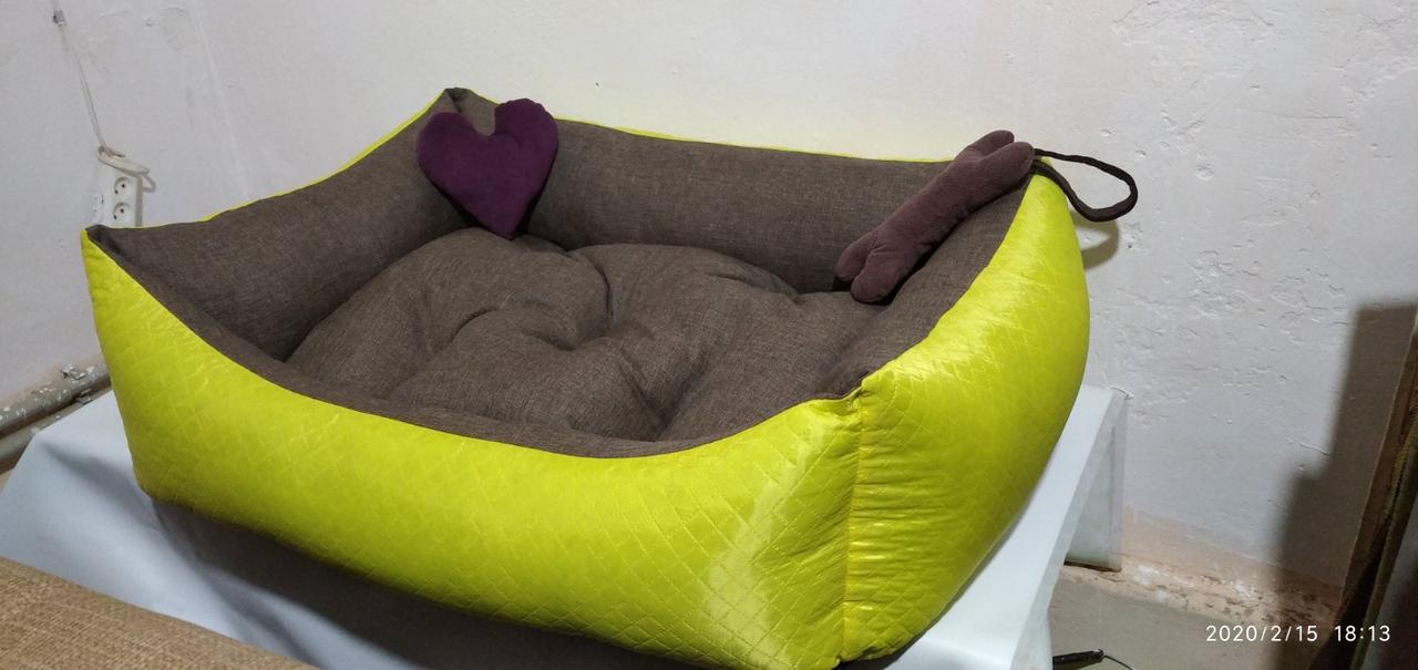 Диван лежанка Premium для больших собак всех  100 х 80 см.Лежанка,Лежаки,лежак,лежак для кошки,лежак для собак