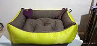 Диван лежанка Premium для больших собак всех  100 х 80 см.Лежанка,Лежаки,лежак,лежак для кошки,лежак для собак, фото 5